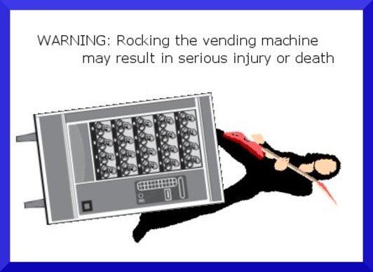 Vendingmachinewarning